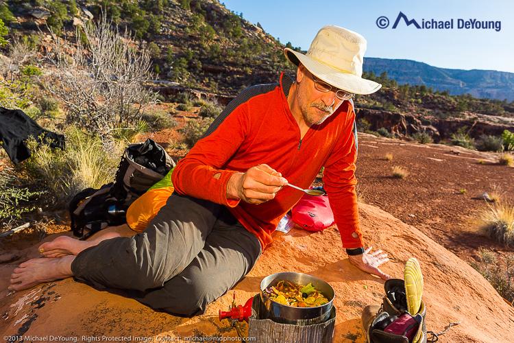 Backpacking/hiking Grand Canyon National Park