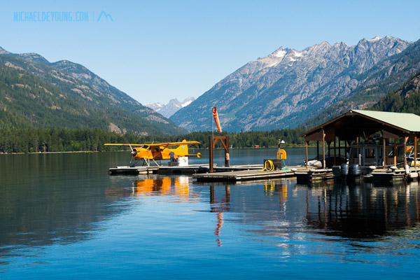 View of Lake Chelan and Stehekin with a Beaver on floats.  Stehekin reminds me of some of the little hamlets in SE Alaska like Elfin Cove, Gustavus, Tenakee.  Stehekin has kind of a Talkeena vibe