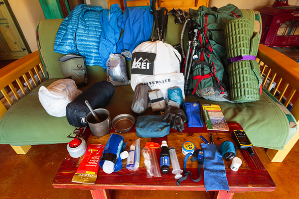 F-stop's SOBO Hiking The PCT – My Gear