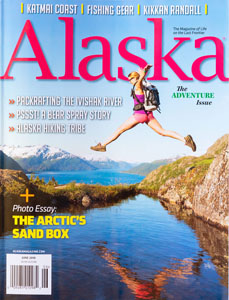 Alaska Magazine Cover June 2018