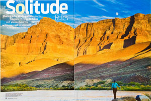 Backpacker Magazine Solitude Feature Article