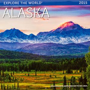 Explore the World 2015 Alaska Calendar Cover