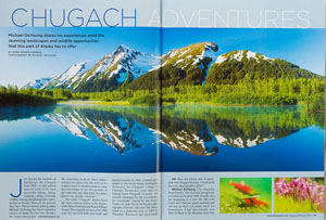 Outdoor Photographer Magazine 'Chugach Adventure' Feature