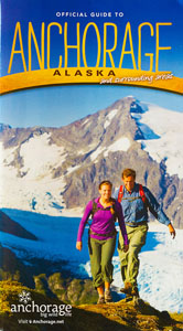 Visit Anchorage Visitor Guide Cover