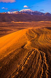 Patterns in the sand - Great Sand Dunes National Park, Colorado