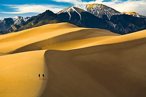Textures and Patterns on Great Sand Dunes
